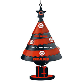 Chicago Bears Tree Bell Ornament
