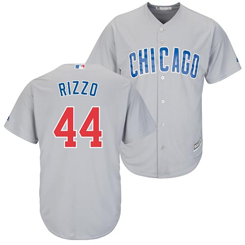 ead5cda33 Chicago Cubs Anthony Rizzo Road Cool Base Replica Jersey