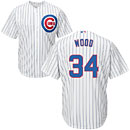 Chicago Cubs Kerry Wood Youth Home Cool Base Replica Jersey