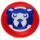 Chicago Cubs 1989 Bear Face Logo Patch