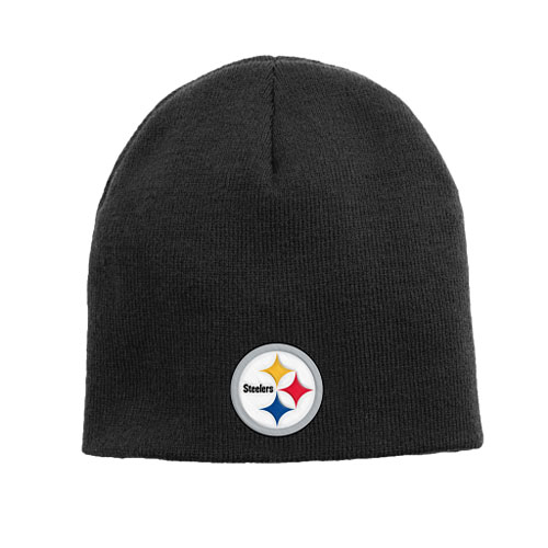 Pittsburgh Steelers Youth Basic Skull Knit Hat fc2445e07ba