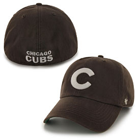 Chicago Cubs Brown Franchise Fitted Cap