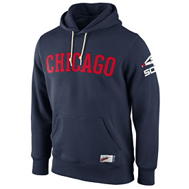 Chicago White Sox Cooperstown Collection Washed Hooded Sweatshirt