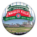 Chicago Cubs Wrigley Field 100 Year Anniversary Logo Button