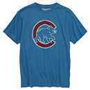 Chicago Cubs Youth Distressed Walking Bear SST T-Shirt