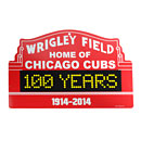Wrigley Field 100 Years Marquee Sign