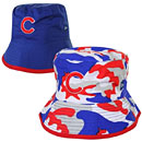 Chicago Cubs Toddler Camo Switch Up Reversible Bucket Hat