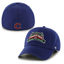 Chicago Cubs Wrigley Field 100 Year Anniversary Royal Blue Franchise Fitted Cap