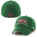 Chicago Cubs Wrigley Field 100 Year Anniversary Green Franchise Fitted Cap