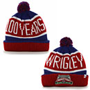 Chicago Cubs Wrigley Field 100 Year Anniversary Calgary Knit Hat