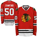 Chicago Blackhawks Corey Crawford Youth Red Premier Jersey