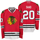 Chicago Blackhawks Brandon Saad Youth Red Premier Jersey