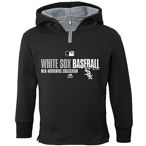 save off dea58 09590 Chicago White Sox Youth AC Team Favorite Therma Base Hooded Sweatshirt