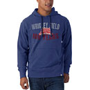 Chicago Cubs Wrigley Field 100 Year Anniversary Royal Striker Hooded Sweatshirt