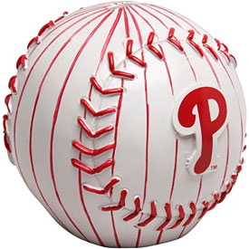 Philadelphia Phillies Ball Coin Bank