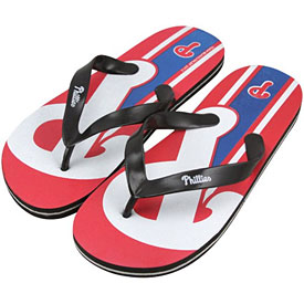 Philadelphia Phillies Unisex Big Logo Flip Flops