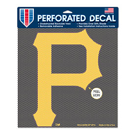 Pittsburgh Pirates Perforated Decal