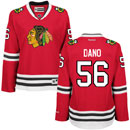 Chicago Blackhawks Marko Dano Ladies Red Premier Jersey w/ Authentic Lettering