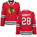 Chicago Blackhawks Ryan Garbutt Ladies Red Premier Jersey w/ Authentic Lettering