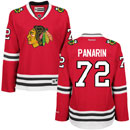 Chicago Blackhawks Artemi Panarin Ladies Red Premier Jersey w/ Authentic Lettering