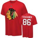 Chicago Blackhawks Teuvo Teravainen Name and Number T-Shirt