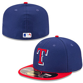 Texas Rangers Diamond Era 59FIFTY Performance Fitted Cap