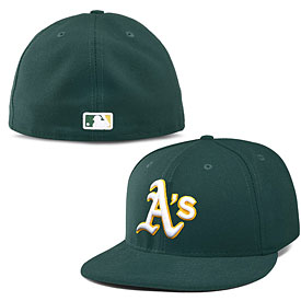 Oakland Athletics On-Field Team Logo Performance 59FIFTY Fitted Cap