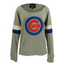 Chicago Cubs Ladies Deal Long Sleeve T-Shirt