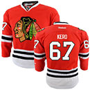 Chicago Blackhawks Tanner Kero Youth Red Premier Jersey w/ Authentic Lettering
