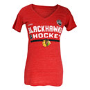 Chicago Blackhawks 2016 Stadium Series Ladies Authentic Tri-Blend T-Shirt