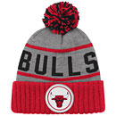 Chicago Bulls High Five Cuffed Knit Hat w/ Pom