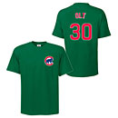 Chicago Cubs Mike Olt Youth Green Name and Number T-Shirt