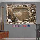 Chicago Cubs Wrigley Field Historic Aerial Mural