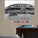 Chicago Cubs Wrigley Field Historic Mural