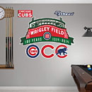 Chicago Cubs Wrigley Field 100th Anniversary Logo Fathead
