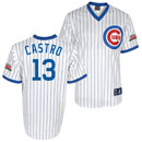 Chicago Cubs Starlin Castro Wrigley Field 100 Year 1988 Throwback Replica Jersey