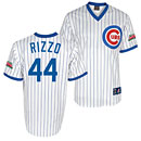 Chicago Cubs Anthony Rizzo Wrigley Field 100 Year 1988 Throwback Replica Jersey