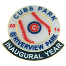 Chicago Cubs Riverview Park Mesa Collectible Lapel Pin