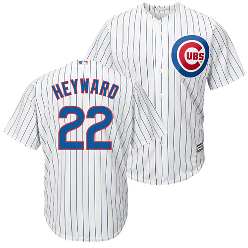 big sale 9a3a0 30536 Chicago Cubs Jason Heyward Home Cool Base Replica Jersey