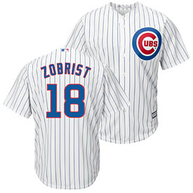 Chicago Cubs Ben Zobrist Home Cool Base Replica Jersey