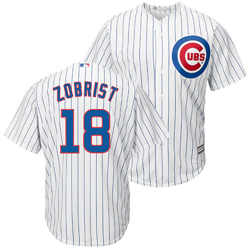 88f2a3cfa Chicago Cubs Ben Zobrist Home Cool Base Replica Jersey