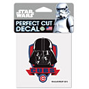 Chicago Cubs Darth Vader 4 x 4 Die-Cut Decal