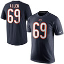 Chicago Bears Jared Allen Name and Number T-Shirt