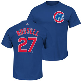 Chicago Cubs Addison Russell Name and Number T-Shirt