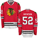 Chicago Blackhawks Erik Gustafsson Red Premier Jersey w/ Authentic Lettering