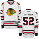 Chicago Blackhawks Erik Gustafsson White Premier Jersey w/ Authentic Lettering