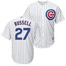 Chicago Cubs Addison Russell Youth Home Cool Base Replica Jersey