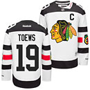 Chicago Blackhawks Jonathan Toews 2016 Stadium Series Premier Jersey w/ Authentic Lettering