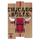 Chicago Bulls Fence Wood Sign