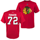 Chicago Blackhawks Artemi Panarin Name and Number T-Shirt